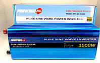 Инвертор с чистой синусоидой POWERONE Pure Sine Inverter 1500W