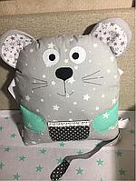 Бортик подушечка мышка, фото 1