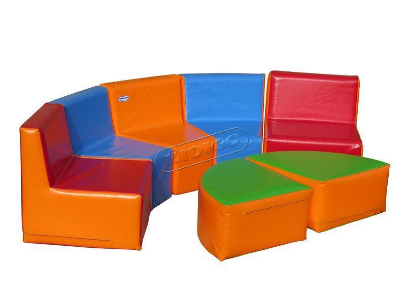 """Ігрові мякі меблі, комплект дитячих меблів """"Куточок"""""""