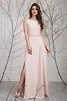 Женское платье Сатин с камнями