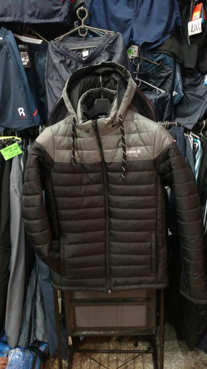 Мужская куртка Reebok из плащевки копия afe4ac2541d