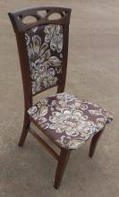 """Стул обеденный """"Вена"""" (орех, бежевый, белый, ваниль) для гостинной Fusion Furniture"""