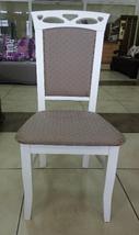 """Стул обеденный """"Вена"""" (орех, бежевый, белый, ваниль) для гостинной Fusion Furniture, фото 3"""