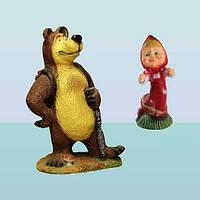Садовые скульптуры для сада Маша и Медведь