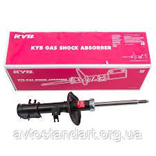 Амортизатор передний левый Chevrolet Aveo (газ-масло) KYB