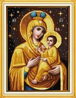 Божья мать с младенцем (7) Набор для вышивки крестом