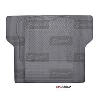 Коврик в багажник резиновый серый Elegant Plus EL 215020