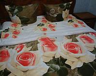 Комплект постельный с розами