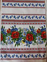 """Полотенце свадебное """"Букет цветов"""",47*160 см"""