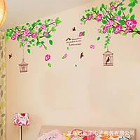 """Интерьерная наклейка на стену """"Птицы"""""""