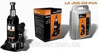 Домкрат гидравлический бутылочного типа 4т. 180-350мм в пластиковом кейсе Lavita LA JNS-04PVC