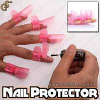 """Протекторы для ногтей - """"Nail Protector"""" - 10 шт., фото 1"""