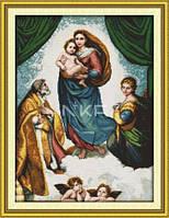 Сикстинская мадона (картина Рафаэля) Набор для вышивки крестом