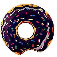 Пляжный коврик 150 см Шоколадный Пончик top-176