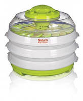 Сушка для овощей и фруктов Saturn ST-FP0112зелено-белая