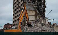 Демонтаж многоэтажных зданий