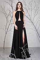 Элегантное женское платье с распоркой и вырезом по груди Энди