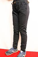 Котонові брюки на флісі для хлопчика 10-11 років на манжеті на зріст 140-146см. Фирма-Niebieski