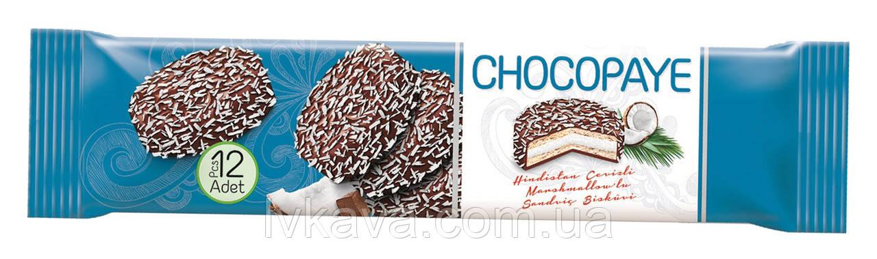 Печенье-сендвич с шоколадом, маршмеллоу и кокосом CHOCO PAYE  Simsek, 216 гр