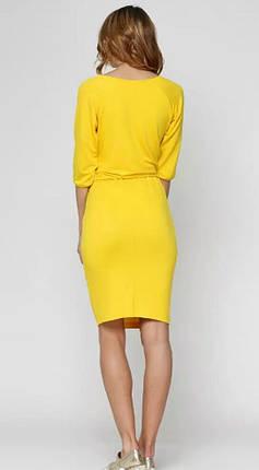 Кофта женская, желтая, фото 2