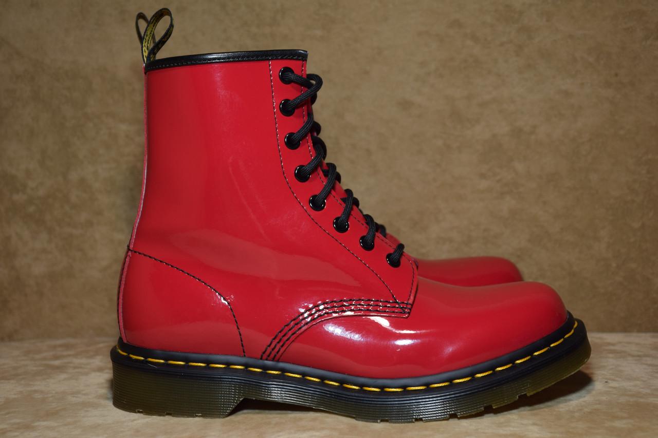 ffec262d Ботинки женские Dr. Martens Patent 1460. Оригинал. 41 р./26 см ...
