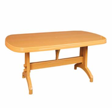 """Пластиковый стол """"Oval"""" 90*150 см"""