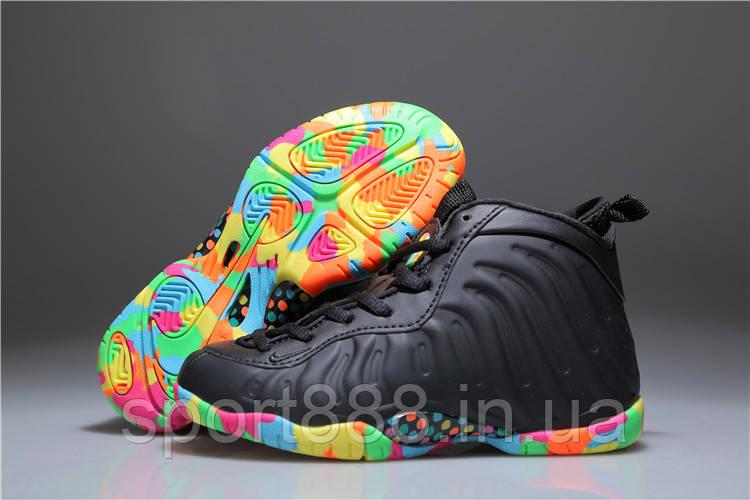 "1d691f5e Детские баскетбольные кроссовки Nike Air Foamposite ""Fruity Pebbles"" -  sport888 в Николаеве"