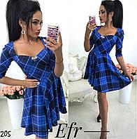 Платье коктейльное трикотаж 42, 44, 46