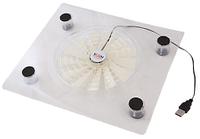 Прозрачная охлаждающая подставка под ноутбук Fan Laptop Cooler RX-830