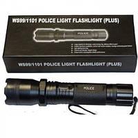 Электрошокер фонарь 1101 POLICE 100W ( Шерхан ) +чехол