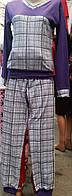Женская пижама теплая
