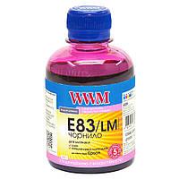 Чернила WWM для Epson Stylus Photo T50/P50/PX660 200г Light Magenta Водорастворимые (E83/LM) светостойкие