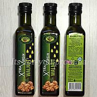 Масло Грецкого Ореха WALNUT Extra Virgin (первый отжим) Premium, 0,25л – стекло