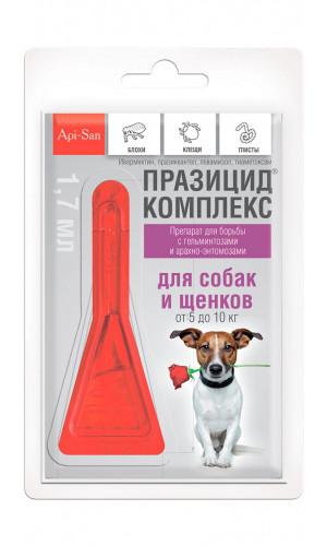 Празицид комплекс Апи-сан для собак, 5-10 кг
