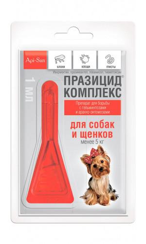 Празицид комплекс Апи-сан для собак, до 5 кг