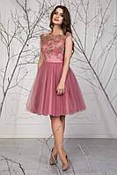 Короткое женское платье с пышной юбкой Рене