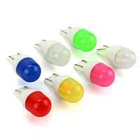 Светодиодная лампа цоколь Т10 (W5W) 2-SMD 5630, 12В