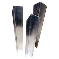 Угол алюминиевый перфорированный с сеткой 3м.