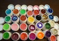 Набор гель лаков, для дизайна ногтей, из 12 -ти шт., яркие цвета