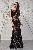 Гипюровое прозрачное женское платье Прима