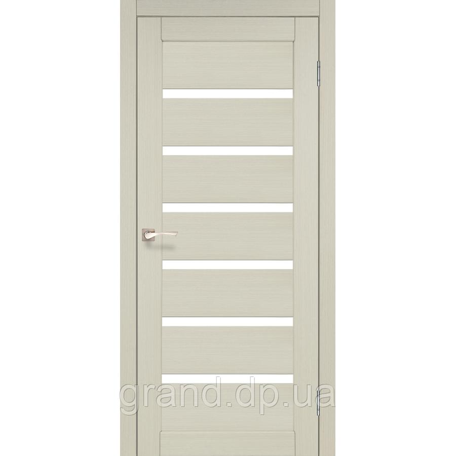 Двери межкомнатные  Корфад PORTO Модель: PR-01 ясень белый