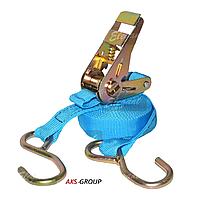 Стяжной ремень 5м х 25мм, 1т с храповым механизмом Elegant EL 101808