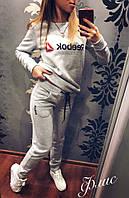Женский спортивный костюм (42-44; 44-46; 46-48) — трехнитка (флис) купить оптом и в Розницу в одессе 7км