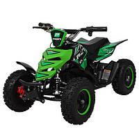 Одноместный Детский Электро-квадроцикл ATV 5E-5 Салатовый