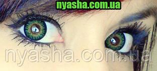 линзы для карих глаз MAGIC BEAUTY Green