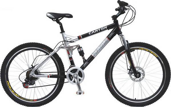 """Горный велосипед ARDIS CANTON  26"""" 19""""   Черный/Серый"""