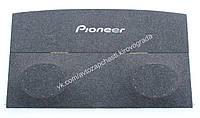 Полка багажника ВАЗ 2108-09 (карпет вышивка) серый