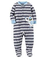 Пижама слип Carters микрофлис; 3, 5 лет