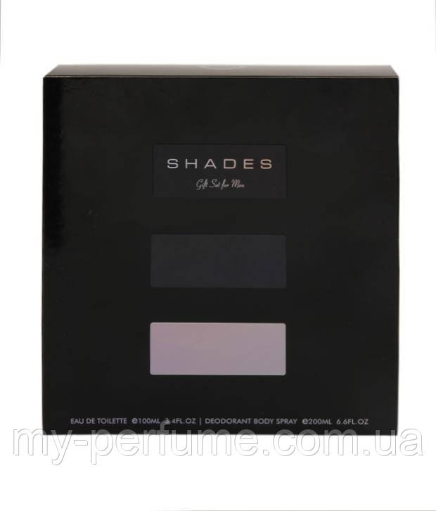 Подарочный набор для мужчин Armaf SHADES (edt 100 ml + b/s 200 ml)