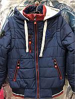Дитяча куртка-жилетка трансформер, фото 1